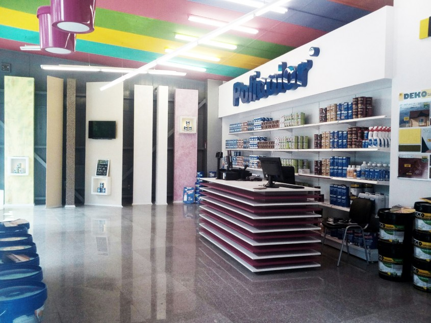 Policolor a deschis la Iași un showroom în care a investit 50 000 de euro -