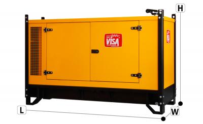 Generator Automat VISA 20 kVA - Generatoare electrice pe motorina