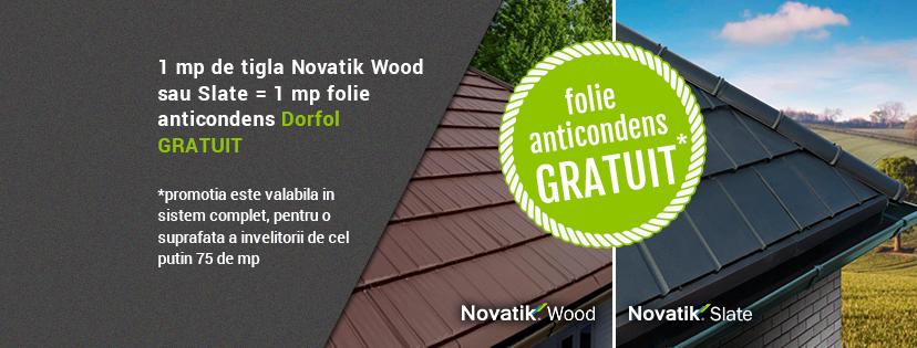 Novatik Slate si Novatik Wood - cele mai noi profile din portofoliul Final Distribution - Novatik