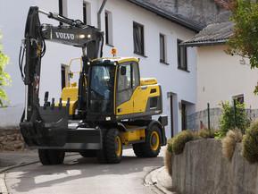 Excavator pe roti - EW140D - Excavatoare pe roti - Volvo