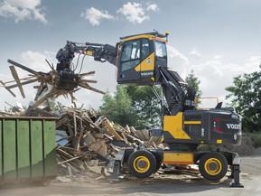 Excavator pe roti - EW 160E - Excavatoare pe roti - Volvo