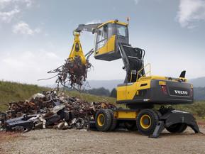 Excavator pe roti - EW180E - Excavatoare pe roti - Volvo