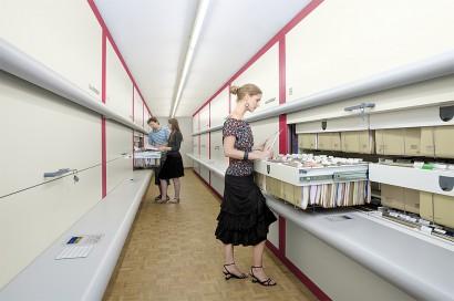 Sisteme de depozitare automatizata Rotomat pentru birouri - Sisteme de depozitare automatizata