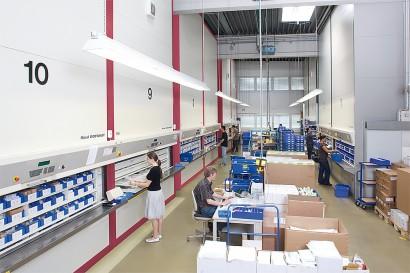 Sisteme de depozitare automatizata Rotomat pentru industrie - Sisteme de depozitare automatizata