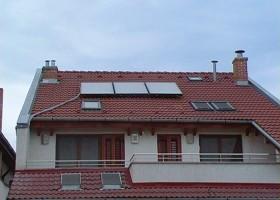Montaj panouri solare plane Rotex - Montaj panouri solare - CIUPIROM INSTAL