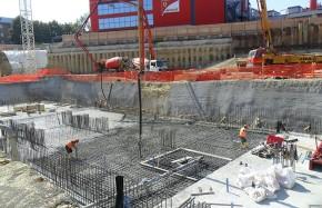 Tratamentul betonului cu Penetron Admix inainte de turnare la proiectul Ferrari GES - Tehnologia de impermeabilizare PENETRON