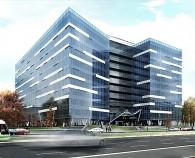Anvelopa exterioara sticla Business Center - Anchor Plaza Metropol - Anvelopa exterioara din sticla Business Center