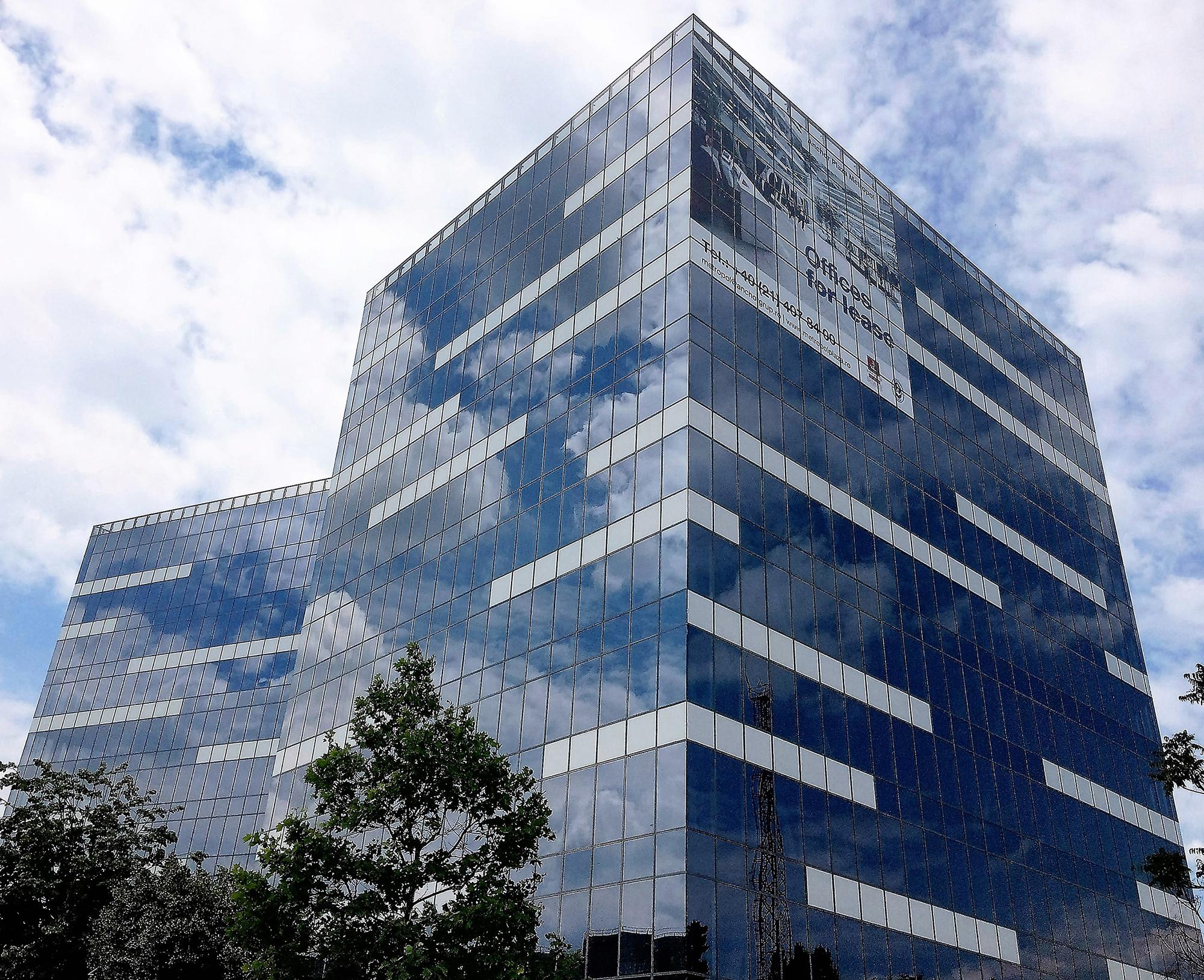 Anvelopa exterioara sticla Business Center - Anchor Plaza Metropol - Anvelopa exterioara din sticla, Business Center - Anchor Plaza Metropol