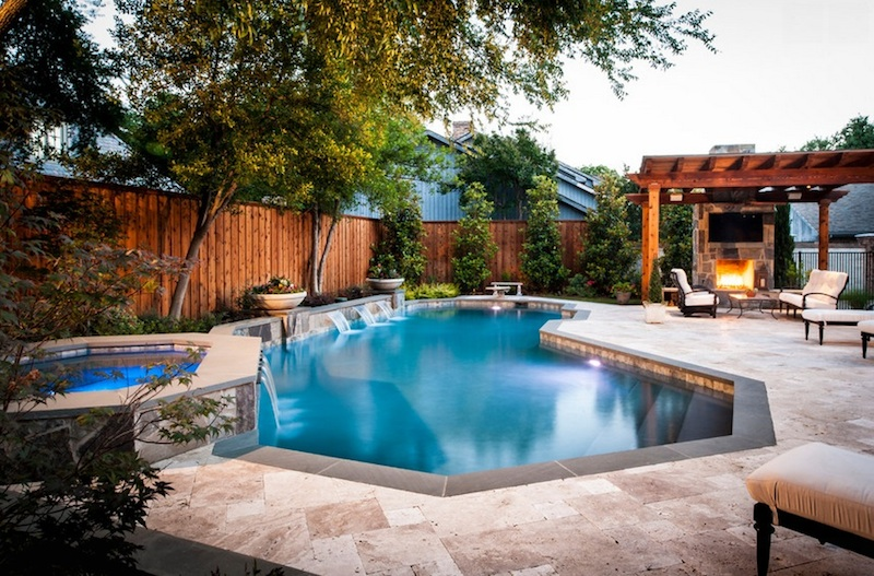 Transforma piscina intr-un accesoriu - Transforma piscina intr-un accesoriu
