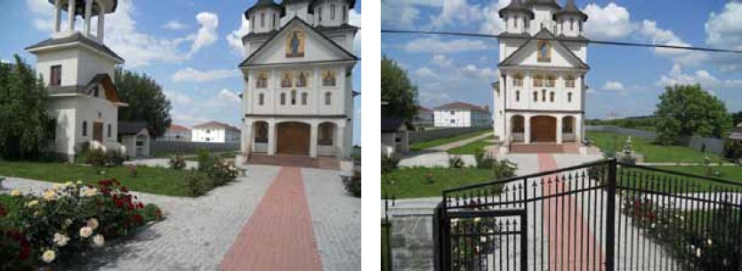 "Pavaj cu pavele ""Piscot"" la Biserica Sf Andrei din Tartasesti Dambovita - Pavaj cu pavele ""Piscot"""
