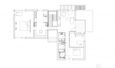 Casa Hemmingford - planuri - Design modern si elemente rustice intr-o casa construita cu materiale naturale
