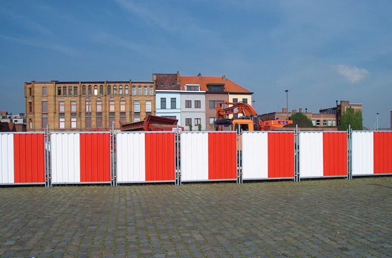 M800 City Fence - Delimitarea organizarilor de santier urbane