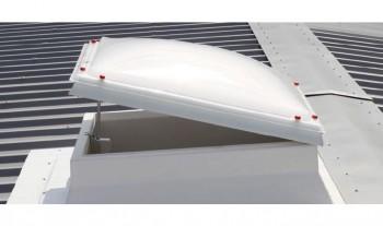 Socluri cu flansa laterala inclinata - Accesorii / componente pentru cupolete pentru iluminare si ventilare JET