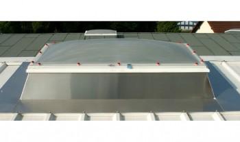 Soclu JET - OTEL - ALUMINIU integrat cu flansa profilata TRP - Accesorii / componente pentru cupolete pentru iluminare si ventilare JET