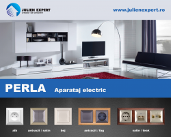 Aparataj electric perla  - Aparataj electric perla