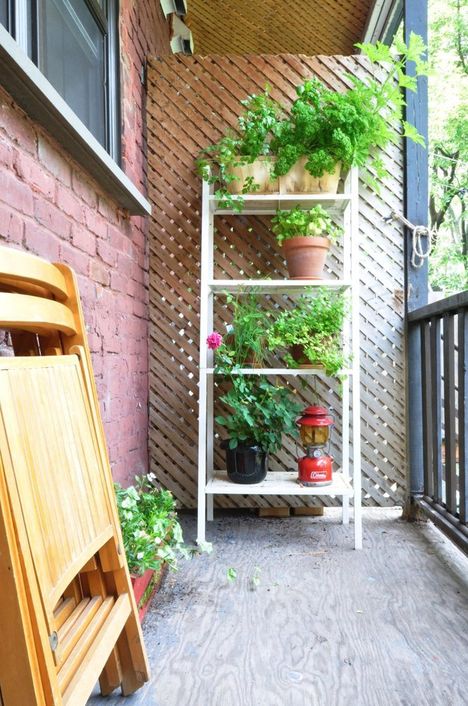 Apartament eclectic in Montreal - Apartament eclectic in Montreal - balcon