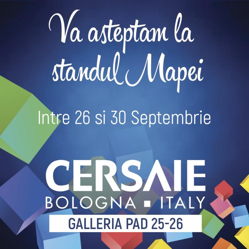 Mapei va asteapta la Cersaie 2016! - Mapei va asteapta la Cersaie 2016!