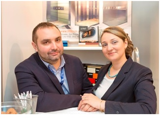 Ionuţ si Silvia Ecobici, Asociati - Conducerea Multilift Systems