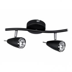 Linda Aplica 2x50W, negru, GU10 - Iluminat corpuri de iluminat