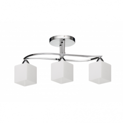 Cobo Lustra 3 brate alb, 3xE27, 60W - Iluminat corpuri de iluminat