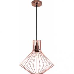 Flavia Lustra cupru, 1xE27, 60W - Iluminat corpuri de iluminat