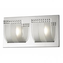 LEAF Aplica 2x3W, sticla - Iluminat corpuri de iluminat