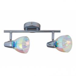 Kora Plafoniera 2x40W, E14,sticla - Iluminat corpuri de iluminat