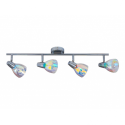 Kora Plafoniera 4x40W, E14,sticla - Iluminat corpuri de iluminat