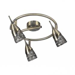 Milva Plafoniera 3x28W, G9,metal - Iluminat corpuri de iluminat