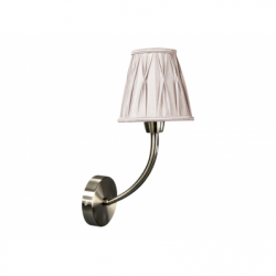 ATINA Aplica 1xE14 40W, textil - Iluminat corpuri de iluminat