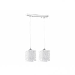Anika Suspensie 2x60W, E27, metal-sticla-plastic - Iluminat corpuri de iluminat