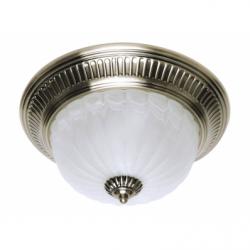 Plafoniera EL GRADO 2x60W , E27, metal-sticla - Iluminat corpuri de iluminat