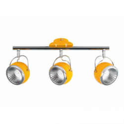 Ball Plafoniera 3xLED GU10 5W 420lm 3000k, metal - Iluminat corpuri de iluminat