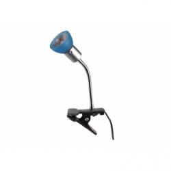 Veioza Clips albastru 1xGU10 35W, metal - Iluminat corpuri de iluminat