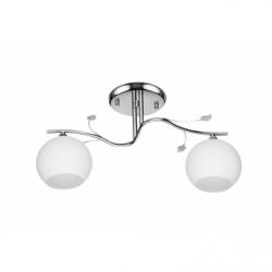 Nita Lustra 2x60W, E27, sticla - Iluminat corpuri de iluminat