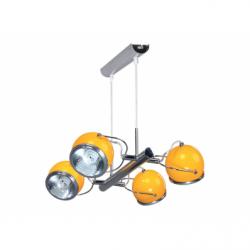 Lustra BALL 4x9W GU10 orange ,metal - Iluminat corpuri de iluminat