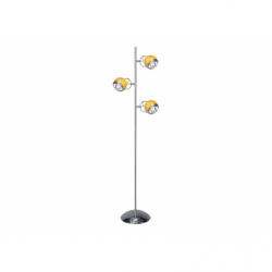 Lampadar BALL 3x9W GU10 orange, metal - Iluminat corpuri de iluminat