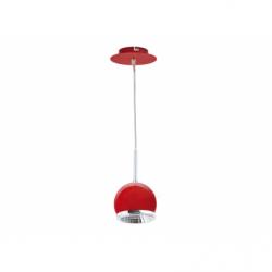 Ball Aplica rosu 1xLED GU10 5W 420lm 3000k, metal - Iluminat corpuri de iluminat