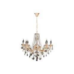 Lustra ODESSA 8x40W E14 , sticla - Iluminat corpuri de iluminat