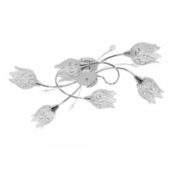 Plafoniera LORETTA 6x40W E14 , metal - Iluminat corpuri de iluminat