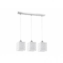 Anika Pendul 3x60W, E27, 60W, metal-plastic-sticla - Iluminat corpuri de iluminat