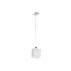 QUADRA Plafoniera 1x60W, E 27, IP 20, metal - sticla - Iluminat corpuri de iluminat