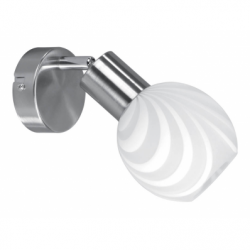 Aplica SARA 1x40W E14 , sticla - Iluminat corpuri de iluminat