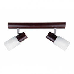 Aplica KIRA lemn 1x40W E14 , sticla - Iluminat corpuri de iluminat
