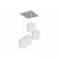 QUADRA Plafoniera 4xE27, 60W, metal - Iluminat corpuri de iluminat