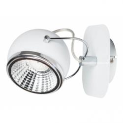 BALL Spot alb 1x5W LED, GU10, metal - Iluminat corpuri de iluminat