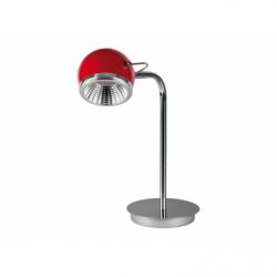 Ball Veioza rosu LED 1x5W, GU10, metal - Iluminat corpuri de iluminat