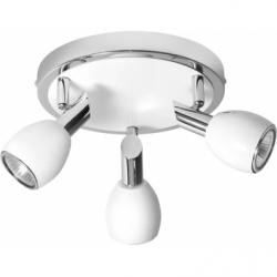 COLORS Plafoniera alb 3x50W, GU10, metal - Iluminat corpuri de iluminat
