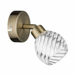WAVE Aplica alama 1x28W, G9, sticla - Iluminat corpuri de iluminat
