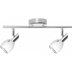 COLORS Plafoniera alb 2x50W, GU10, metal - Iluminat corpuri de iluminat
